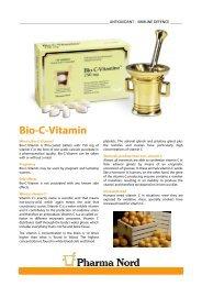 Get Bio-C-Vitamin infosheet - Pharma Nord