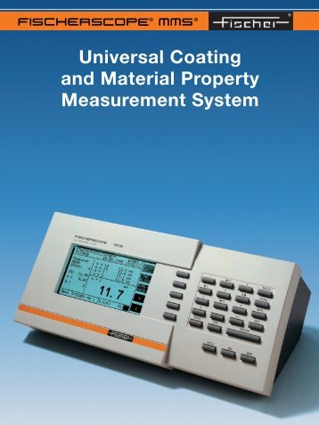 Universal Coating and Material Property Measurement ... - Labsys