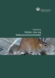 Rotter, mus og fødevarevirksomheder - Favrskov Kommune