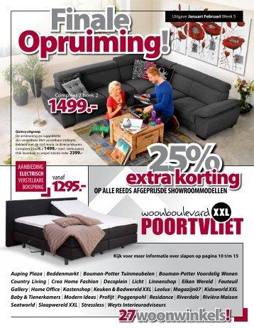 kortingen tot 70% - Woonboulevard Poortvliet