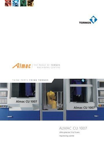 Brochure ALMAC CU 1007 - Tornos