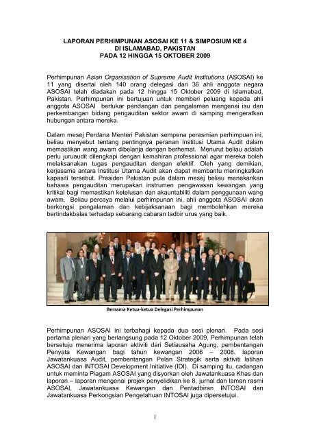 kongres international organisation of supreme audit institution