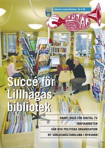 Kommuntidningen Tutan nr 4 2006.pdf - Nykvarns kommun