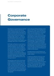 Corporate Governance - Looser Holding
