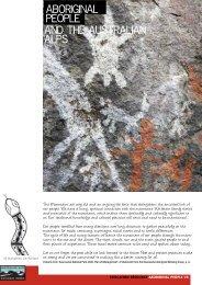 Aboriginal People and the Australian Alps (pdf)
