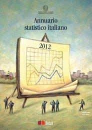 Annuario statistico italiano 2012 - Cultura in Cifre - Istat