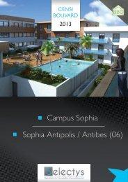 Campus Sophia Sophia Antipolis / Antibes (06) - EGI Patrimoine