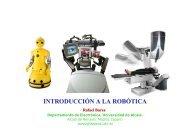 INTRODUCCIÓN A LA ROBÓTICA - Departamento de Electrónica