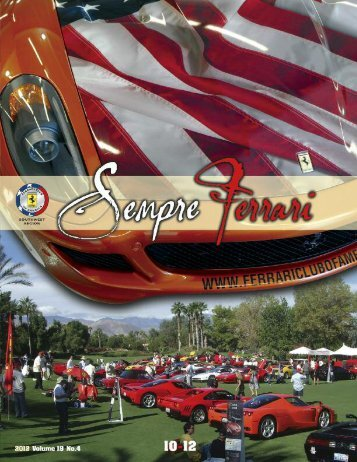 Volume 19 Issue 4 - October-December 2012 - Ferrari Club of ...