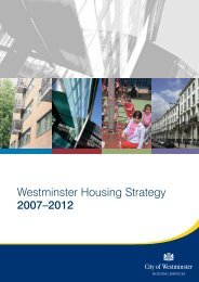 Westminster Housing Strategy 2007–2012 - Westminster City Council