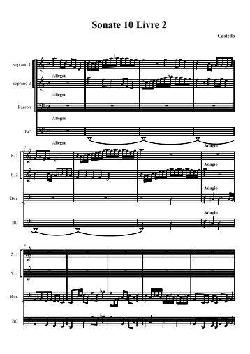 Sonata X - Fulmini e Saette