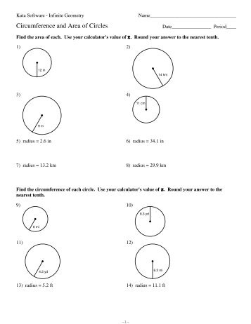 11-Circumference and Area of Circles.pdf