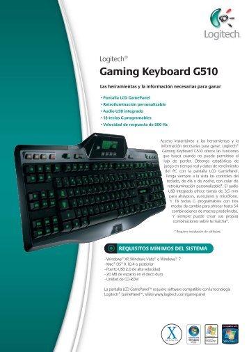 Gaming Keyboard G510 - Zenoon.com