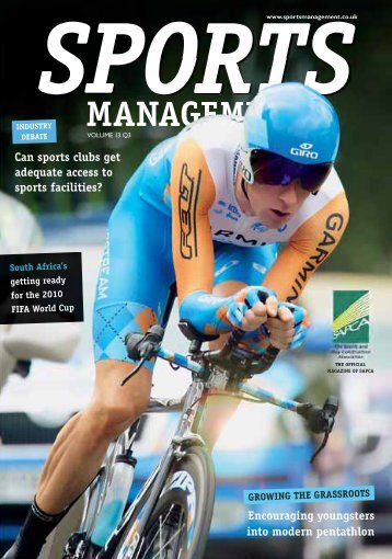 Sports Management Issue 3 2009 - Leisure Opportunities