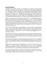 Utvärdering av denitrifikationskapaciteten på Sjölunda ...