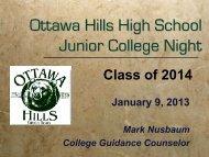 Power Point Presentation - Ottawa Hills School District