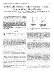 Reducing Redundancies in Reconfigurable Antenna ... - IEEE Xplore