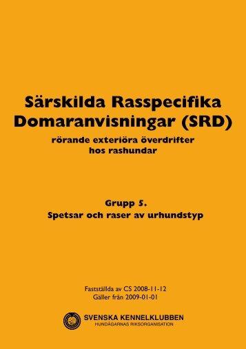 grupp 5 - Svenska Kennelklubben
