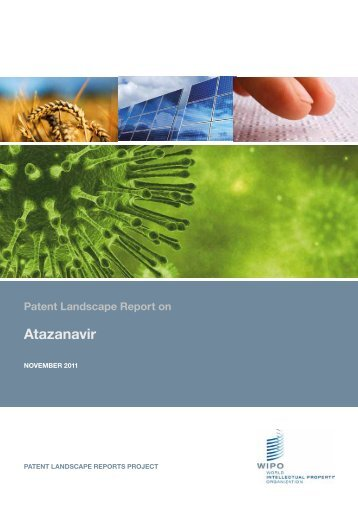 PDF, Patent Landscape Report on Atazanavir - WIPO