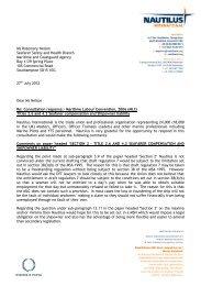 Seafarers compensation and shipowner liability - Nautilus ...
