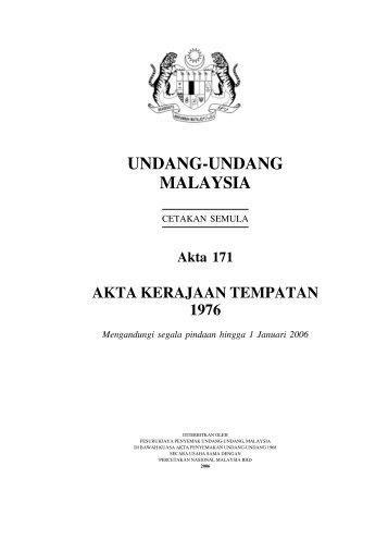 Akta 171 - MPPP