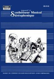 Compositeur Orchestra-90 CC - TRS-80 Color Computer Archive