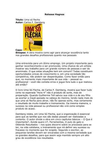 Release Hagnos - Editora Hagnos