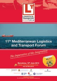11th Mediterranean Logistics and Transport Forum - SIL