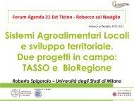 E - Agenda 21 Est Ticino