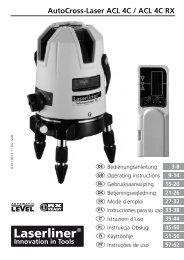 AutoCross-Laser ACL 4C / ACL 4C RX - Spot-on.net