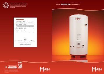 Unvented cylinder manual bhl main unvented cylinders contacts asfbconference2016 Choice Image