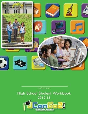 High School Student Workbook - UCanGo2