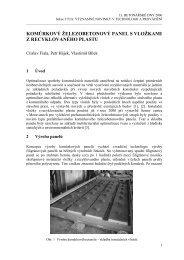komůrkový železobetonový panel s vložkami z ... - Ctislav Fiala