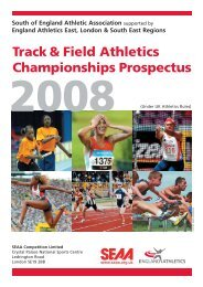 Track & Field Athletics Championships Prospectus - Suffolk County ...