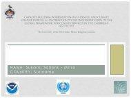 NAME: Sukarni Sallons - Mitro COUNTRY: Suriname - Uwi.edu