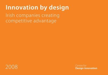 Innovation by design - Centre for Design Innovation