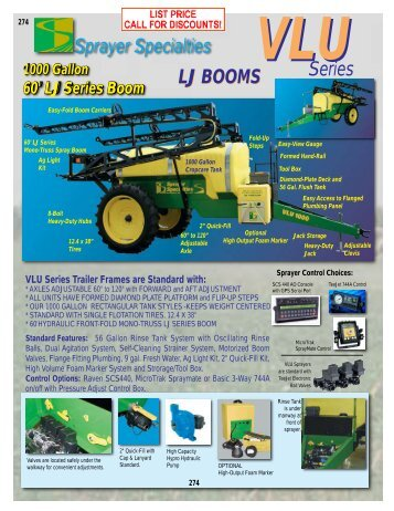 Pg 274-275 - Sprayer Specialties, Inc.