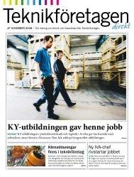 Teknikföretagen Direkt nr 7 2008