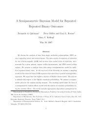 A Semiparametric Bayesian Model for Repeated Repeated Binary ...