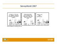 ServoyWorld 2007