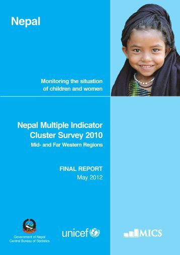 NMICS 2010 Report - Central Bureau of Statistics