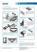 EM-2300 series Double Mini Electromagnetic Lock - GEM,Gianni ... - Page 2