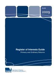 Register of Interests Guide - Victorian Local Governance Association