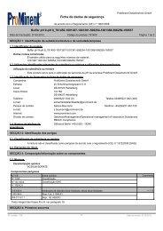 Buffer pH 9-pH 8 - ProMinent