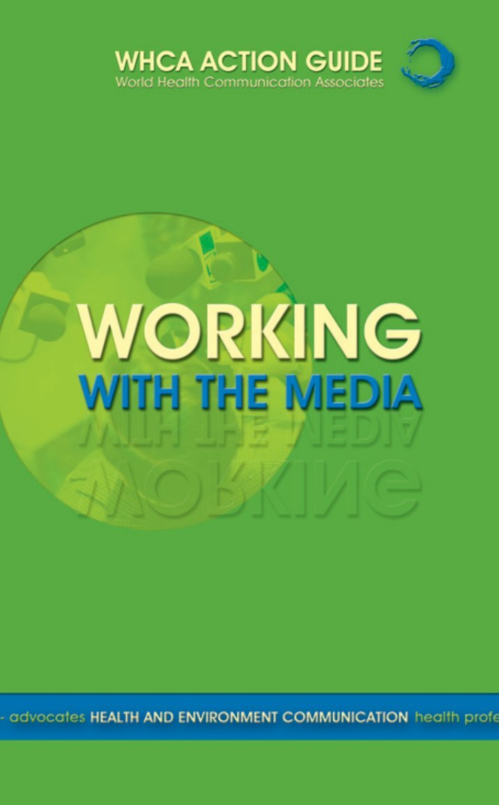 working with the media report The supposed and the real role of mass media in modern democracy agner fog working paper, 2004-05-20, last modified 2013-07-03 abstract a range of different.