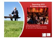 Reporting 2010 6. Ostsee Kongress - Speakers Excellence
