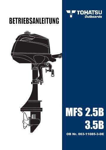 MFS 2.5B 3.5B - Tohatsu