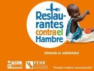 """""""Dossier medios comunicación"""" - Acción Contra el Hambre"""