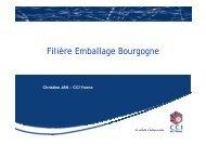 Filière Emballage Bourgogne - (CCI) de l'Yonne
