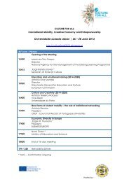 Universidade Lusíada Lisbon | 26 – 28 June 2013 - Conselho ...